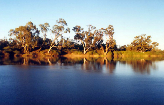 Cullyamurra Waterhole, Cooper Creek