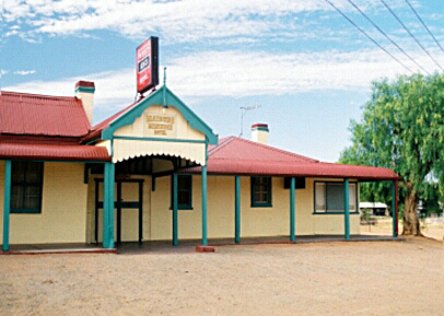 Paine's Maidens Hotel still stands in Menindee